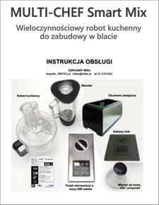 MULTI-CHEF SmartMix Multi Robot kuchenny_Instrukcja